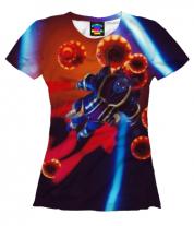 Женская футболка 3D Fortnite