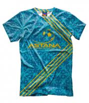 Мужская футболка 3D FC ASTANA