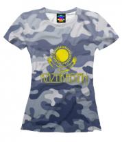 Женская футболка 3D Kazakhstan