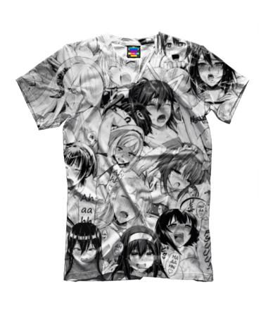 Детская футболка 3D Ахегао