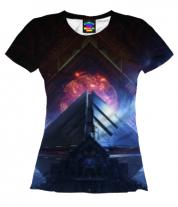 Женская футболка 3D Destiny 2