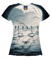 Женская футболка 3D Оно