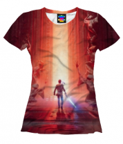 Женская футболка 3D Star Wars