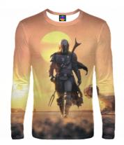 Мужская футболка с длинным рукавом 3D Star Wars