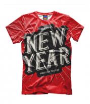 Детская футболка 3D Новый год 2020