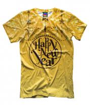 Мужская футболка 3D Новый год 2020