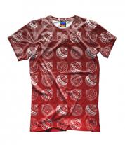 Детская футболка 3D Ёлочные украшения