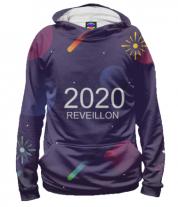 Толстовка худи 3D New Year 2020