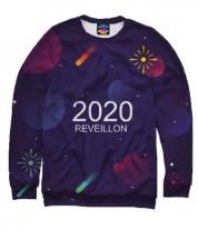Толстовка без капюшона 3D New Year 2020