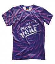 Мужская футболка 3D New Year 2020