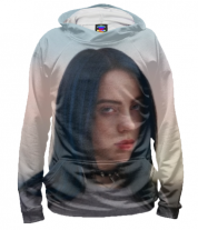 Толстовка 3D Billie Eilish