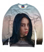 Толстовка без капюшона 3D Billie Eilish