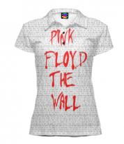 Футболка поло женская 3D Pink Floyd