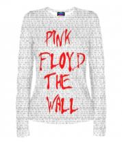 Женская футболка с длинным рукавом 3D Pink Floyd