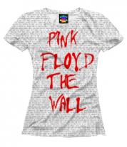 Женская футболка 3D Pink Floyd