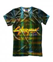 Детская футболка 3D Cyberpunk