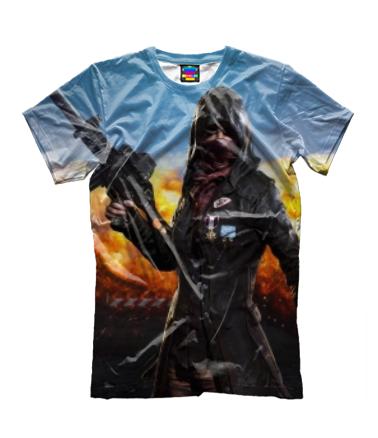Детская футболка 3D Playerunknown`s battlegrounds