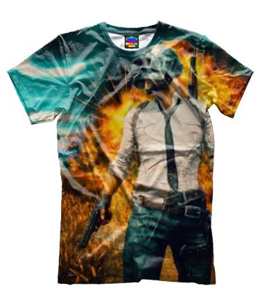 Мужская футболка 3D PUBG