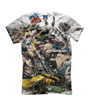 Детская футболка 3D PUBG прикольная кратинка