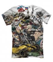 Мужская футболка 3D PUBG прикольная кратинка