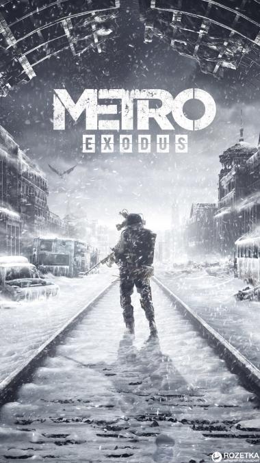 Мужская футболка 3D METRO EXODUS