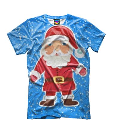 Детская футболка 3D Дед мороз