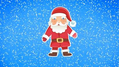 Мужская футболка 3D Дед мороз