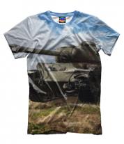 Мужская футболка 3D Т-34