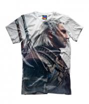 Детская футболка 3D Witcher Two: Profile