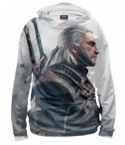 Толстовка 3D Witcher Two: Profile