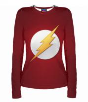 Женская футболка с длинным рукавом 3D Flash