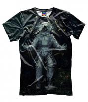 Мужская футболка 3D Открытие