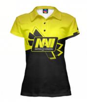 Футболка поло женская 3D Navi