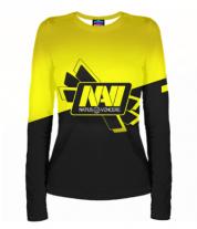 Женская футболка с длинным рукавом 3D Navi