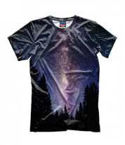 Детская футболка 3D Космос
