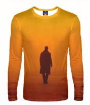 Мужская футболка с длинным рукавом 3D Blade runner