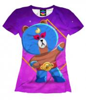 Женская футболка 3D Brawl Stars