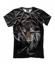 Детская футболка 3D Волк