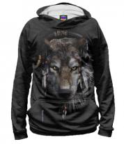Толстовка 3D Волк