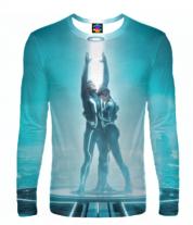 Мужская футболка с длинным рукавом 3D Tron