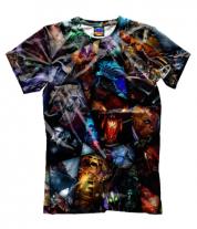 Мужская футболка 3D Dota 2