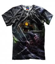 Мужская футболка 3D Roshan Dota 2