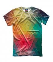Детская футболка 3D Кубическая абстракция