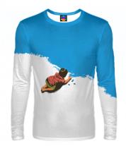 Мужская футболка с длинным рукавом 3D Мелки