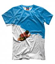 Мужская футболка 3D Мелки