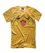 Детская футболка 3D Пикачу