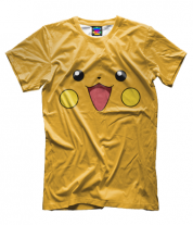 Мужская футболка 3D Пикачу