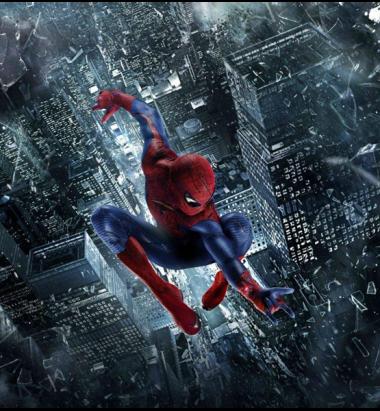 Толстовка без капюшона 3D Человек- паук
