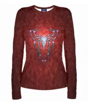 Женская футболка с длинным рукавом 3D Человек- паук