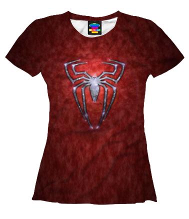 Женская футболка 3D Человек- паук